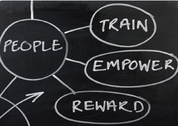 People train empower reward