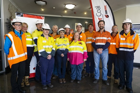 Group photo of people participating in workability day